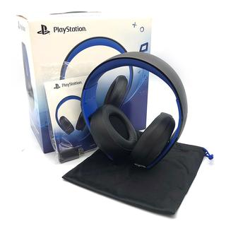 プレイステーション(PlayStation)のプレイステーション ワイヤレス サラウンド ヘッドセット CUHJ-15001(その他)