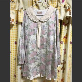 リズリサ(LIZ LISA)のLIZ LISA ワンピース レディース  花柄 ピンク(ミニワンピース)