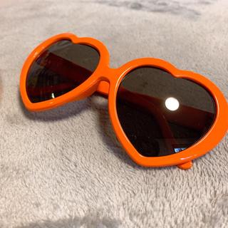 推しカラー(オレンジ)サングラス&腕時計セット(サングラス/メガネ)