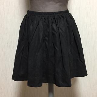 ローリーズファーム(LOWRYS FARM)のローリーズファームシンプル黒スカート (ミニスカート)