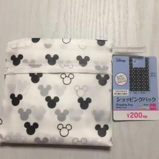ミッキーマウス(ミッキーマウス)の新品☆ミッキーアイコン柄ショッピングバック(エコバッグ)