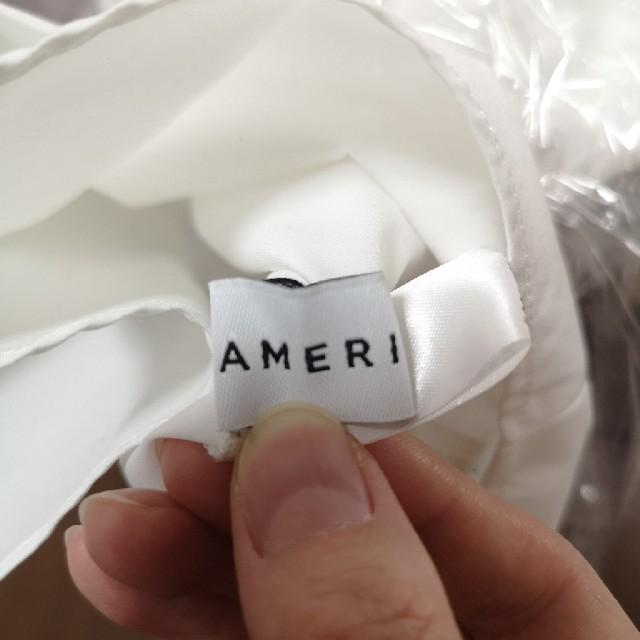 Ameri VINTAGE(アメリヴィンテージ)のamerivintage TUCK BOETIE BLOUSE レディースのトップス(シャツ/ブラウス(半袖/袖なし))の商品写真
