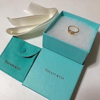 ティファニー(Tiffany & Co.)のTIFFANY & Co リボンリング(リング(指輪))