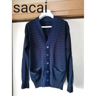 サカイ(sacai)の新品 sacai サカイ カーディガン Size1 メンズ KOLOR 日本製(ニット/セーター)