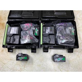 日立 HiKOKI 36Vインパクトドライバ限定色2台+電池2個(電池計6個)