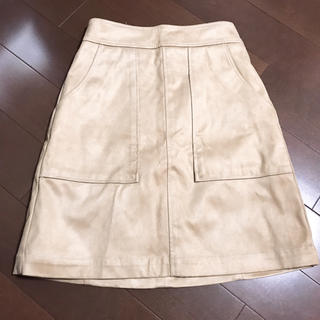 LOWRYS FARM - LOWRYSFARM スエードスカート
