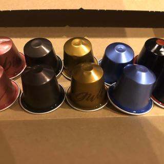ネスレ(Nestle)のネスプレッソ カプセルコーヒー 10個 オークラ(エスプレッソマシン)