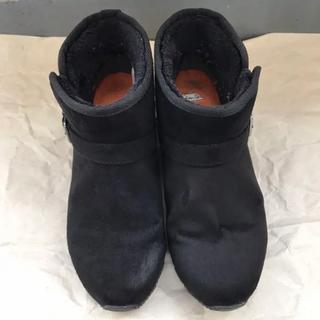 ホーキンス(HAWKINS)のホーキンス ショートブーツ ブラックL 24.0㎝(ブーツ)