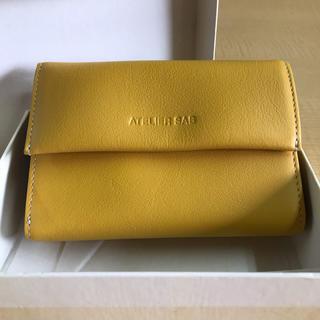 アトリエサブ(ATELIER SAB)のATELIER SAB レディース 黄色 ガマ口 財布(財布)