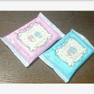 サンリオ(サンリオ)のキキララ アルコール配合除菌ウェットティッシュ 日本製 16枚×2(アルコールグッズ)