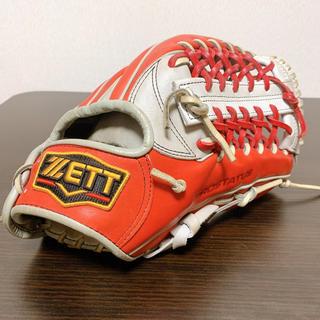 ゼット(ZETT)の【ZETT】軟式外野手用グローブ 一般用(グローブ)