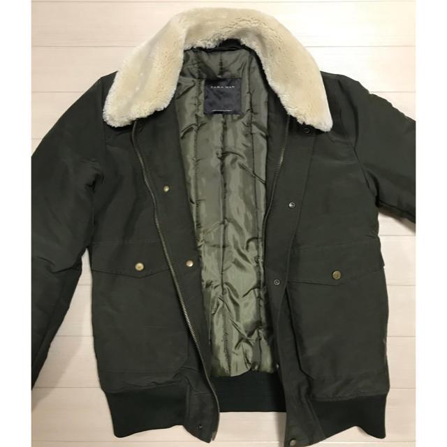 ZARA(ザラ)のZARA フライトジャケット メンズのジャケット/アウター(フライトジャケット)の商品写真