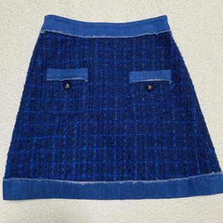 ケイトスペードニューヨーク(kate spade new york)のケイトスペード  台形スカート(ミニスカート)