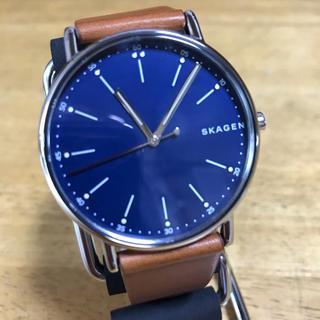 新品✨スカーゲン SKAGEN クオーツ 腕時計 SKW6355 ネイビー