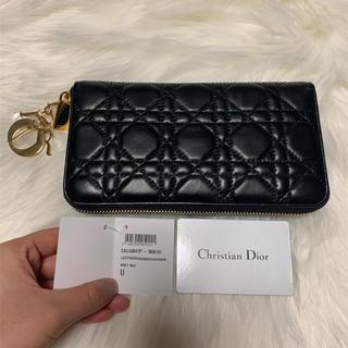 クリスチャンディオール(Christian Dior)のクリスチャンディオール 財布 長財布 黒(財布)
