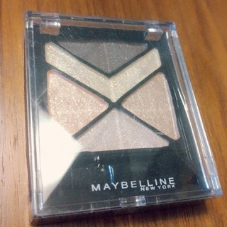 メイベリン(MAYBELLINE)のメイベリン ハイパーダイヤモンド シャドウ BE-1 ベージュ系(3.7g)(アイライナー)