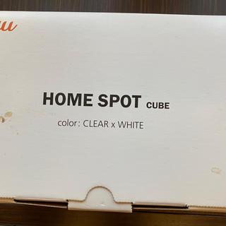 au - au ホームスポットキューブ Wi-Fiルーター
