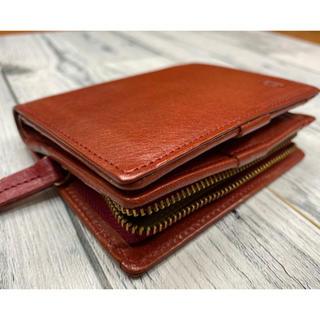 クレドラン(CLEDRAN)のクレドラン2つ折り財布  レッド(財布)