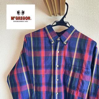 マックレガー(McGREGOR)のチェックシャツ デカポケット ビッグシルエット mcgregor(シャツ)