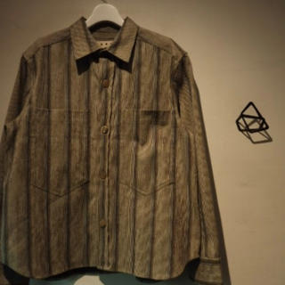 マルニ(Marni)のMARNI ストライプシャツジャケット(シャツ)