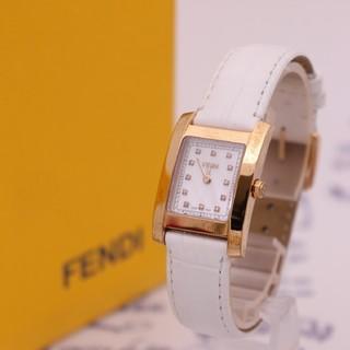 FENDI - 付属品完備【新品電池】FENDI 7000L/ピンクゴールド ダイヤ11Pシェル