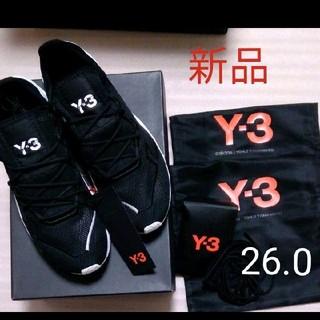 ワイスリー(Y-3)の新品 Y-3 Adizero Runner Black 26.0 Y3(スニーカー)