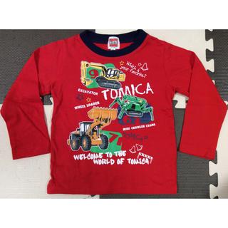 【ゆう様専用】トミカ · はたらく車 長T &トレーナー100 (3点セット)(Tシャツ/カットソー)