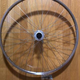 シマノ(SHIMANO)の自転車ホイール前輪26インチ ステンレス シマノ 新品(タイヤ・ホイールセット)
