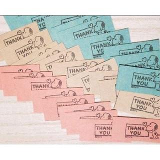 サンキューカード 20枚(カード/レター/ラッピング)