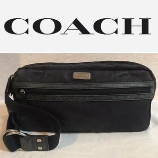 コーチ(COACH)のラスカル大佐様専用 〚 COACH 〛ウエストポーチ スリーブショルダー Bl(ウエストポーチ)