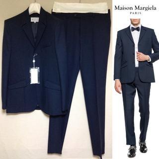 マルタンマルジェラ(Maison Martin Margiela)の新品■50■18aw マルジェラ■セットアップ■ネイビー■紺■7745(テーラードジャケット)