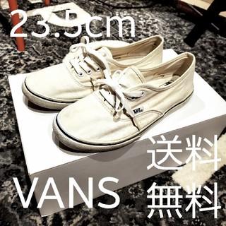 ヴァンズ(VANS)のvans era off white 23.5cm バンズ エラ(スニーカー)