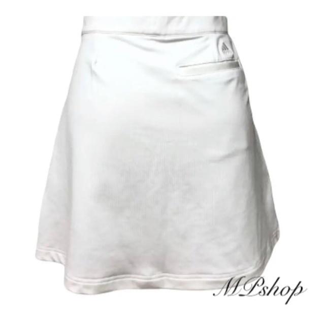 adidas(アディダス)の美品♡アディダスゴルフ CLIMACOOL パンツ一体型  ゴルフスカート スポーツ/アウトドアのゴルフ(ウエア)の商品写真