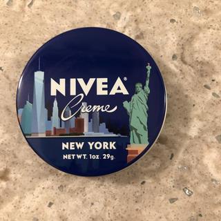 ニベア(ニベア)のホワイトデー♡バラマキ北米限定品NY版ニベア青缶4缶(ハンドクリーム)
