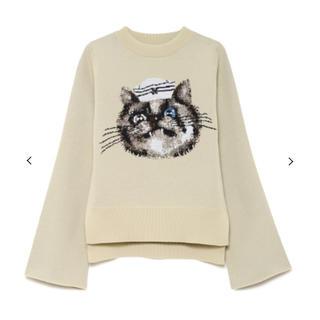 ファーファー(fur fur)のFURFUR セーターキャット(ニット/セーター)