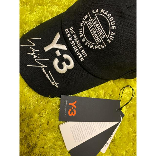 Y-3(ワイスリー)のY-3 ワイスリー キャップ 希少 メンズの帽子(キャップ)の商品写真
