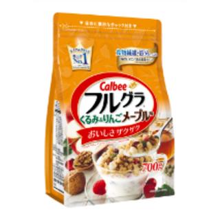 カルビー - フルグラ くるみ&りんごメープル味