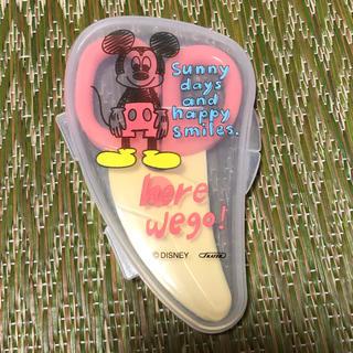 ディズニー(Disney)の離乳食用のハサミ(離乳食調理器具)