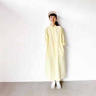 note et silence - 新品タグ付き*note et silenceロングシャツワンピース