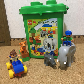 Lego - レゴ(LEGO)デュプロ『ぞうさんのバケツ』