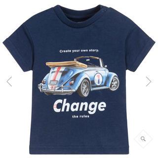 コドモビームス(こどもビームス)の新品 Mayoral マヨラル ビンテージカープリントTシャツ 12month(Tシャツ)