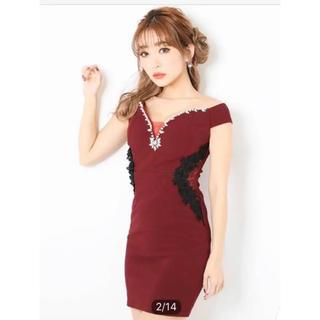 デイジーストア(dazzy store)のキャバドレス ミニワンピース(ナイトドレス)