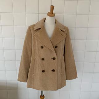 BURBERRY - 美品❤️バーバリー ロンドン ウール アンゴラ ピーコート ショート丈コート