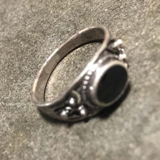 シルバー 925 ×オニキス リング 送料無料(リング(指輪))