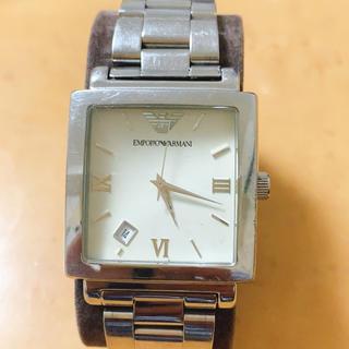 エンポリオアルマーニ(Emporio Armani)のエンポリオ  アルマーニ 腕時計(金属ベルト)