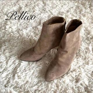 PELLICO - PELLICO ペリーコ * ショートブーツ 37