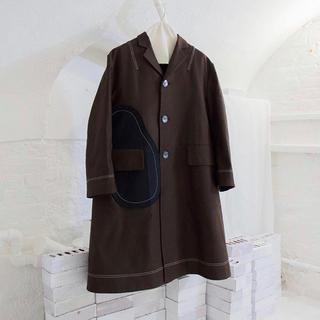コムデギャルソン(COMME des GARCONS)の【新品未使用】omar afridi Stock Service Coat(チェスターコート)