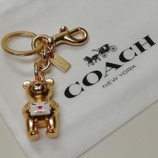 COACH - 【COACH★88550】コーチ 3Dベア キーリングキーホルダーバッグチャーム