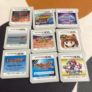 ニンテンドー3DS - 3DSソフト9個