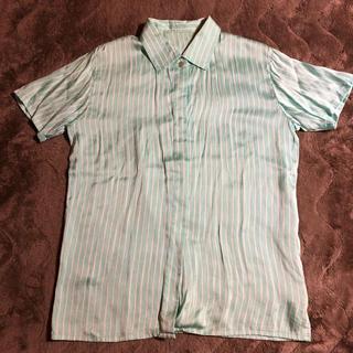 クリスチャンディオール(Christian Dior)のChristian Dior クリスチャンディオール  シャツ シルク(シャツ/ブラウス(半袖/袖なし))